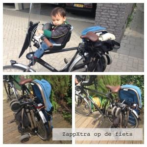 Zapp Xtra op de fiets