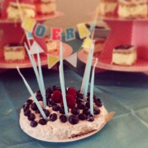 Zelfgebakken taartje