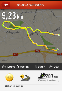 solo run in Nike+