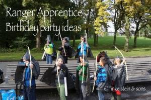 Ranger's Apprentice Birthday Party ideas