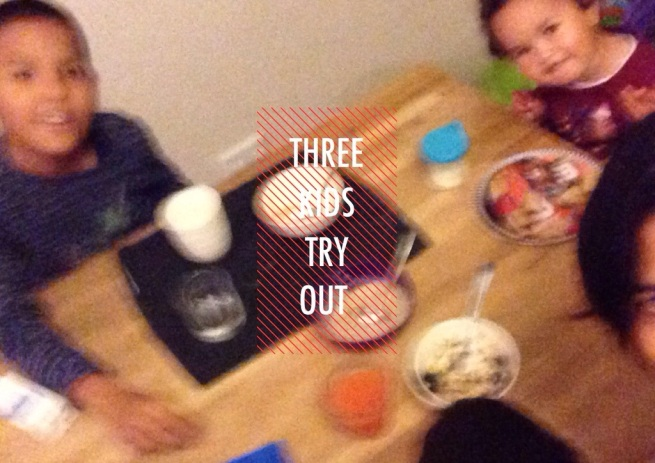 Three Kids Try Out