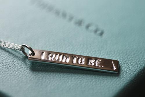 Ooit wil ik zelf een Nike Womens Half Marathon sieraad van Tiffany's
