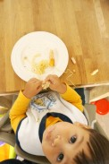 Zaterdag: Baby Led Weaning is ronduit MESSY.