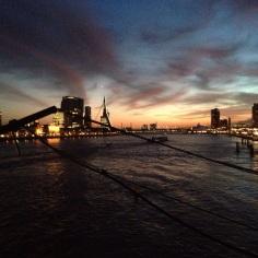The Rotterdam Skyline is SO sexy