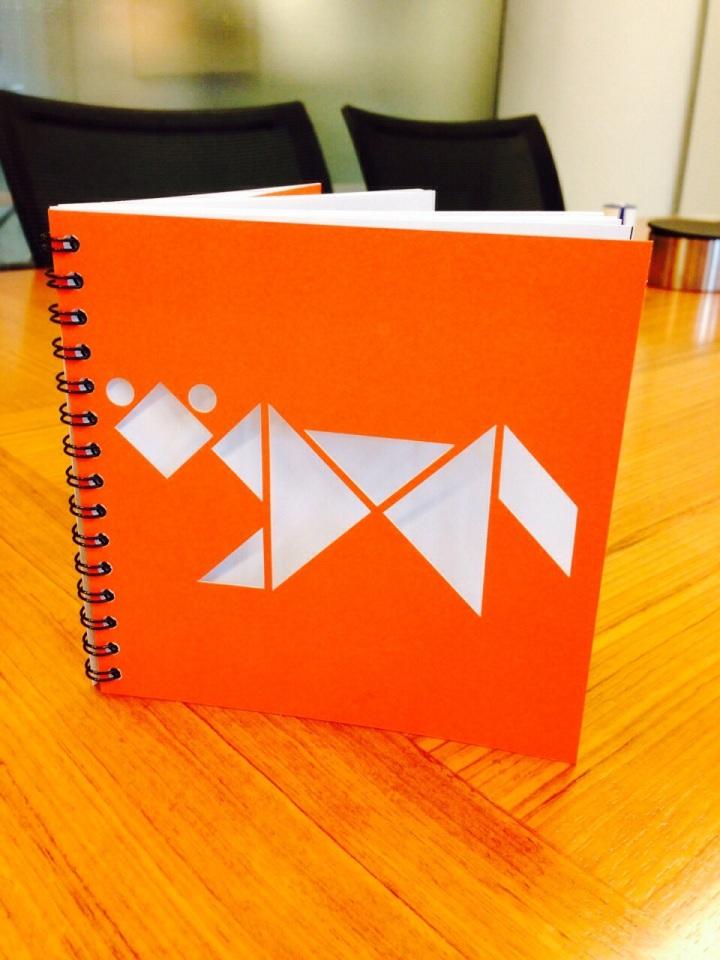 Mijn eigen brochure in Ploum-stijl