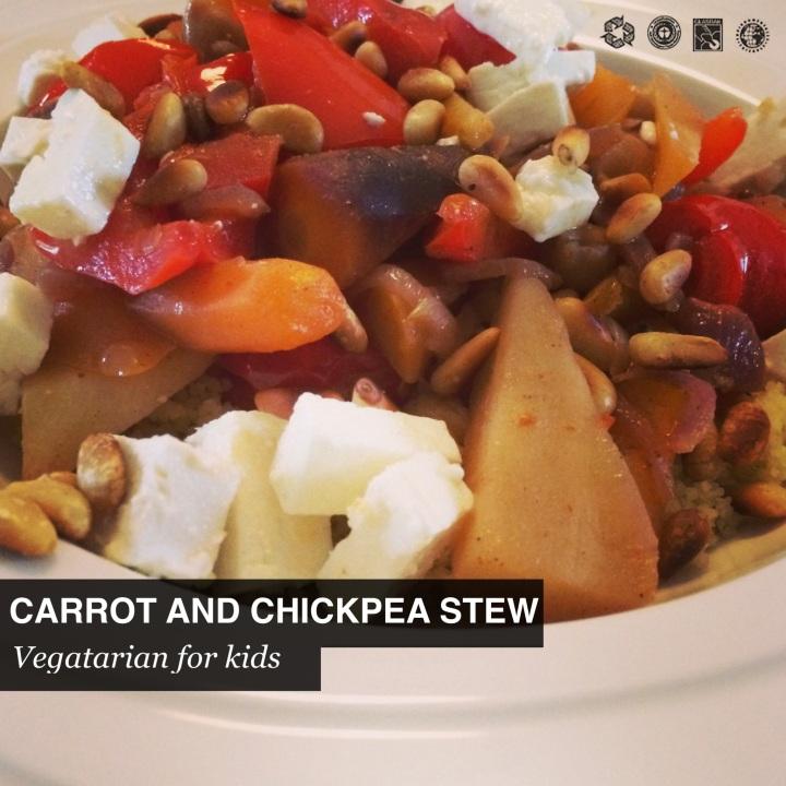 Marokkaanse wortel en kikkererwtenstoofpot