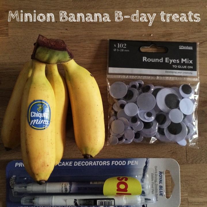 Minion Banana Treats tutorial