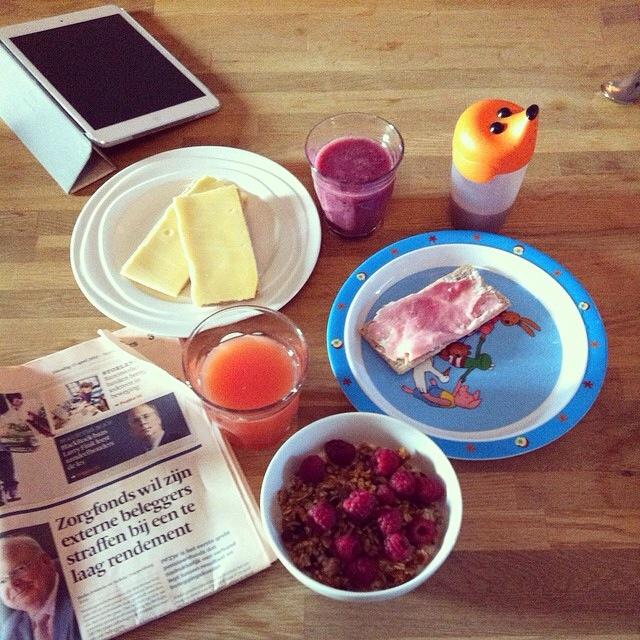 ontbijttafel anno 2014