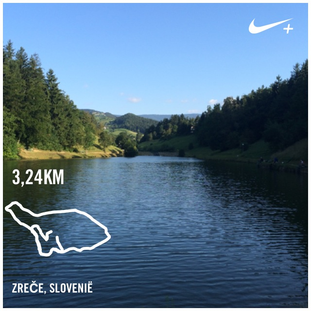 Lake Zrece Running