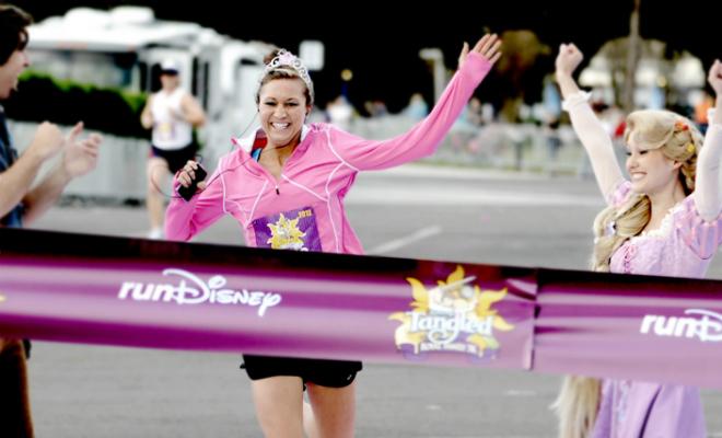 Running like a princess header
