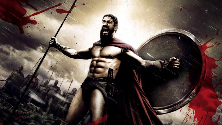 300 Spartaanse soldaat