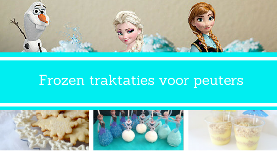 Frozen traktaties voor peuters