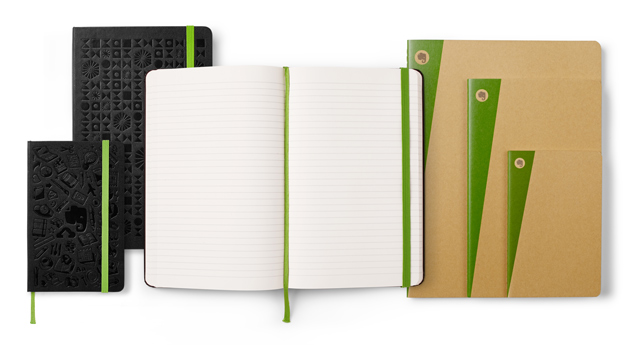 Moleskine with Evernote premium notebooks