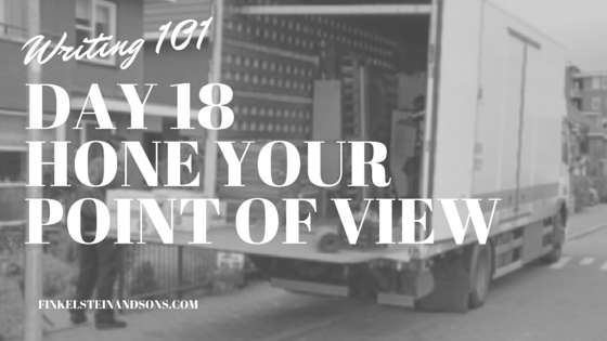Day 18Hone Your POint of View