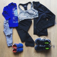 Mommy and mini work out outfit