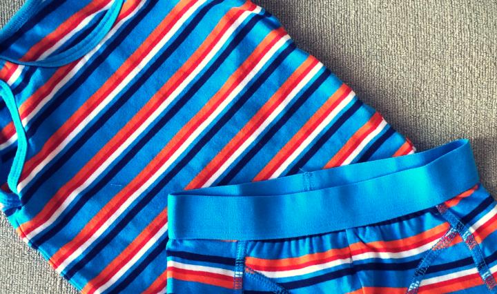 jongensondergoed in Nederlandse kleuren
