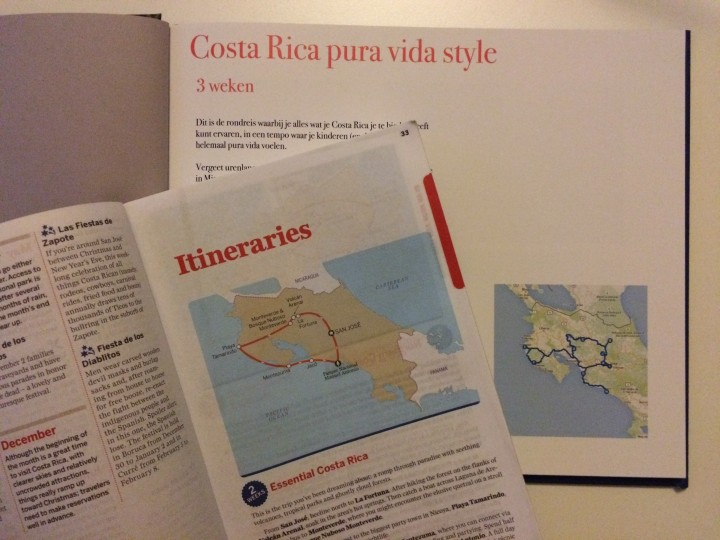 Lonely Planet style photo album itinerary