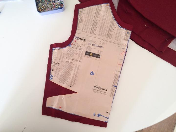 front bodice dress pattern