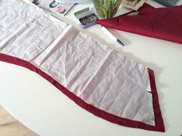 back skirt dress pattern