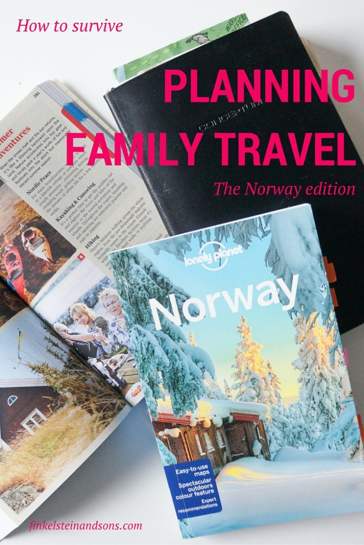How to survive planning family travel to Norway