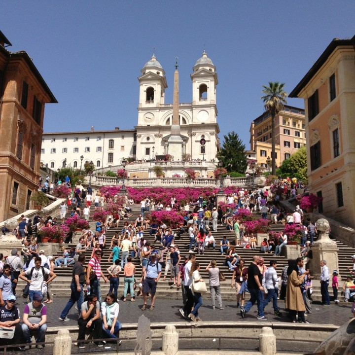 Piazza di Spagna aka Spanish Steps in Rome