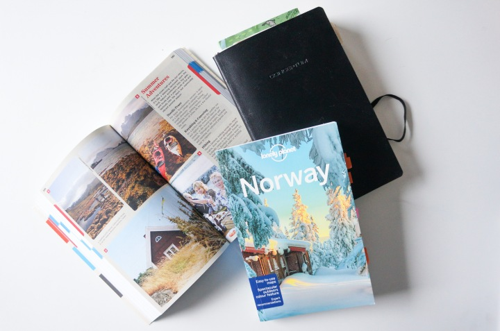 Lonely Planet Norway guide books for planning a family holiday