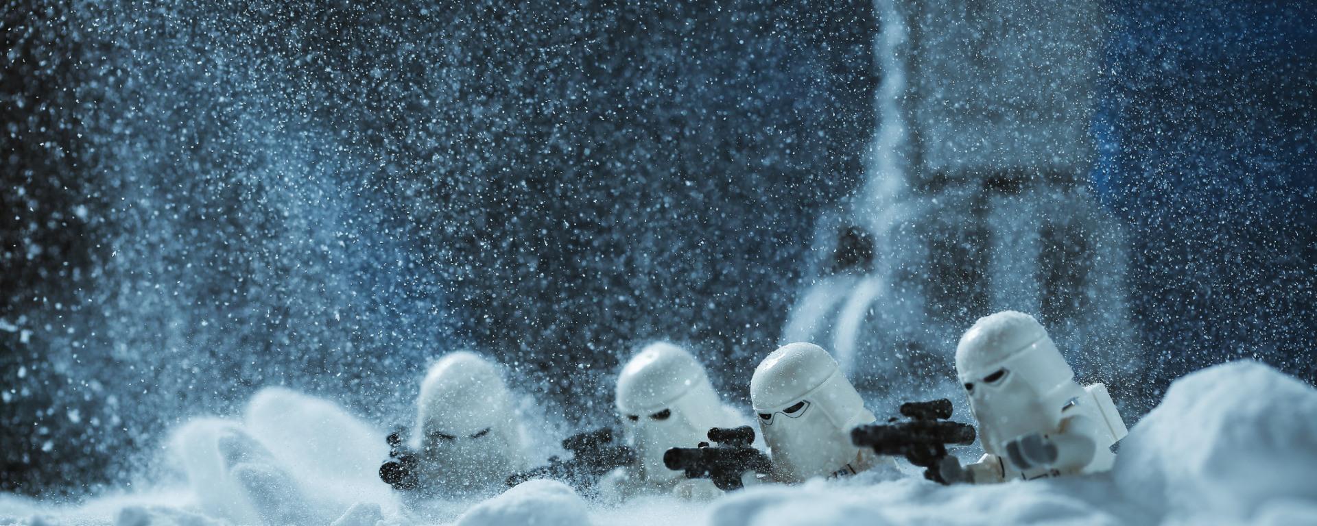 Lego Snow Troopers Surveillance