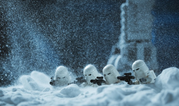 Lego Snow Troopers Surveillance
