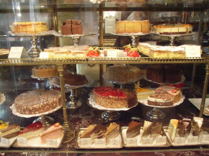Pastry at Demel Cafe