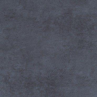indigo blauw leer behang