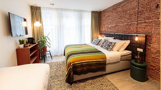 Hotel Dwars slaapkamer