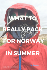 packing list norway summer teen