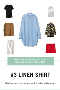 What to pack for Vietnam - for moms